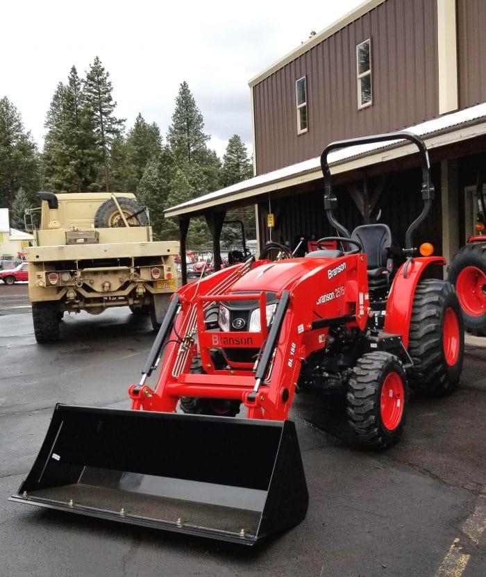Branson 2515H Tractor Loader Backhoe