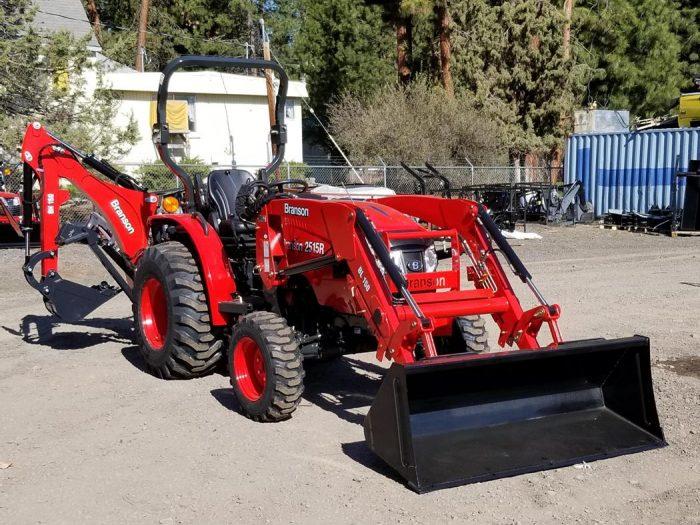 Branson 2515R Tractor Loader Backhoe