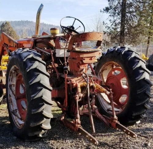 1958 Farmall with Loader Project