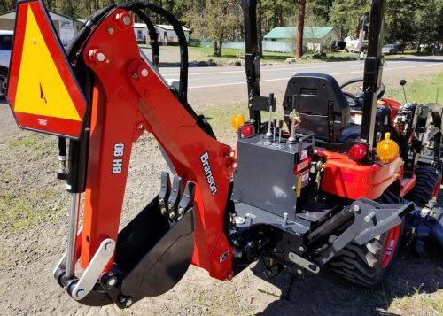 Branson 1905h Tractor Loader Backhoe Mower