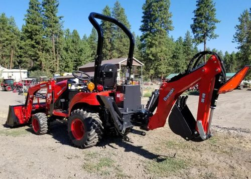 Branson Tractor Loader Backhoe