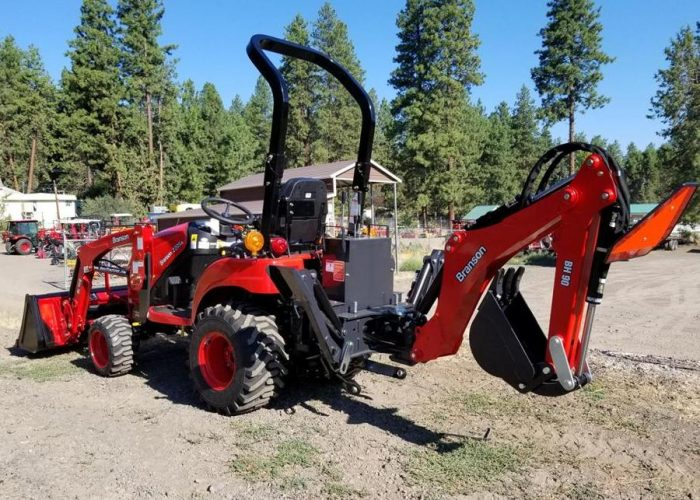 Branson Tractor Loader Backhoe