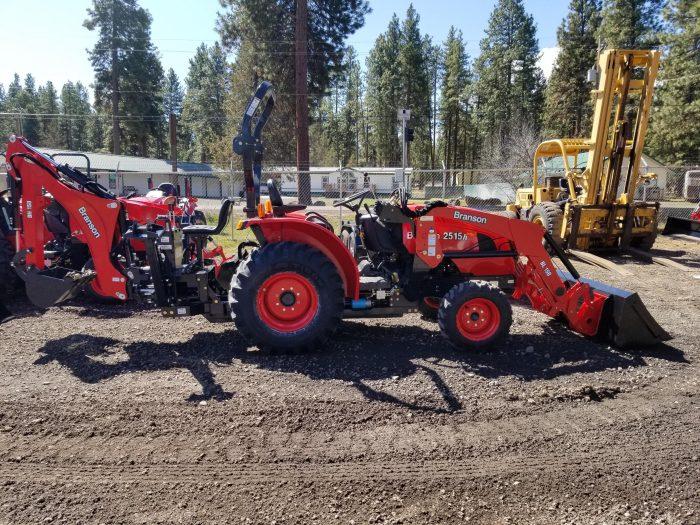 Branson 2515 Tractor Loader Backhoe