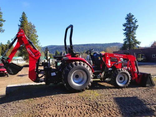 Mahindra 2638 Tractor Loader Backhoe