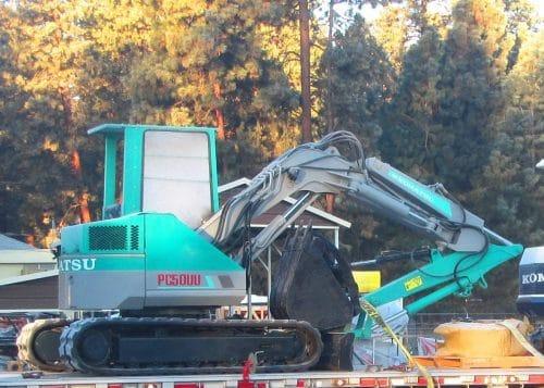 Refurbished Komatsu PC50 Excavators