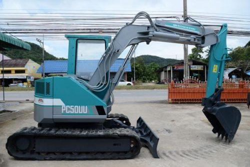 Refurbished Komatsu Excavators