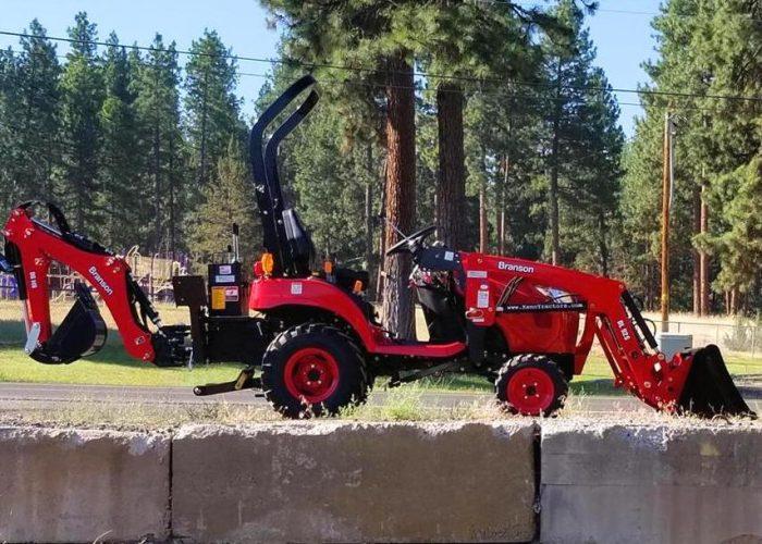 Branson 2205 Tractor Loader Backhoe