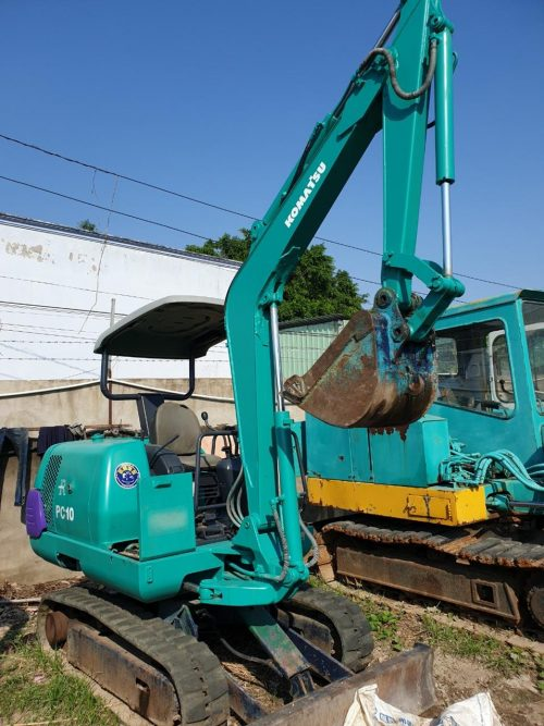 Komatsu PC10 Excavator