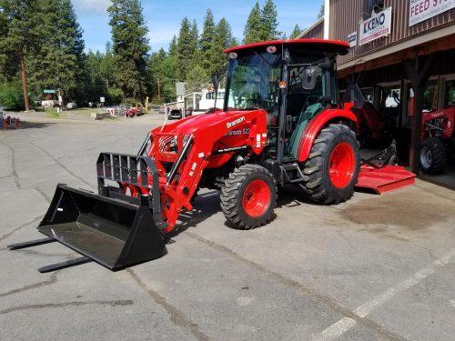 Branson 5220c Cab Tractor Loader