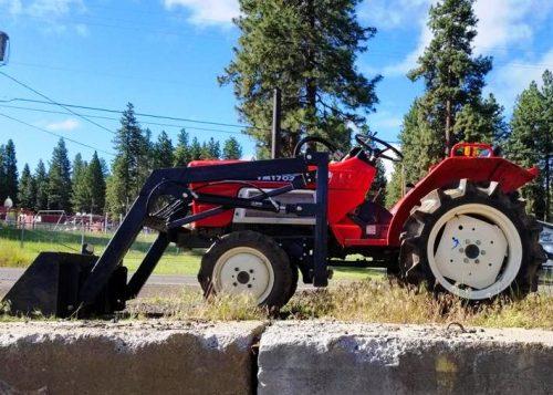 Used Yanmar Tractor Loader