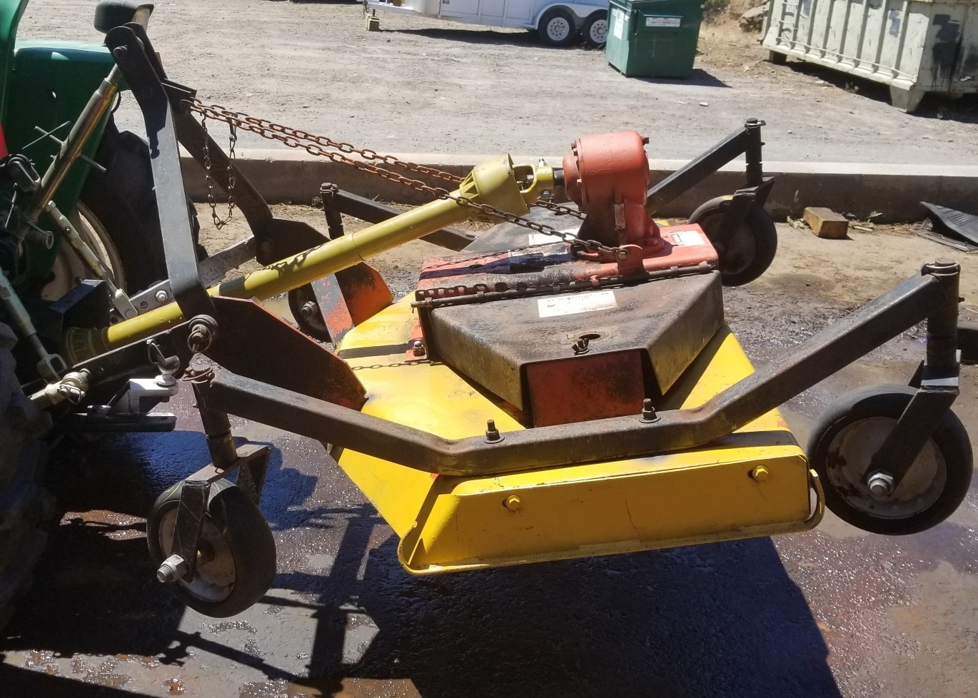 Used 60 Inch Finish Mower