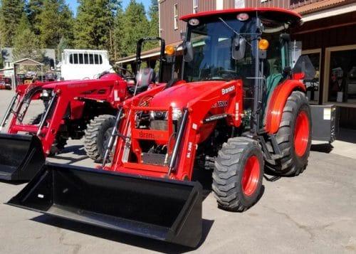 Branson 5520ch Cab Tractor Loader