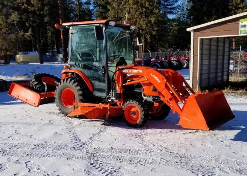 Used Kubota Tractor Package