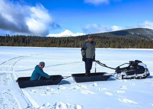 Tinger Dog Pro at Lake of the Woods