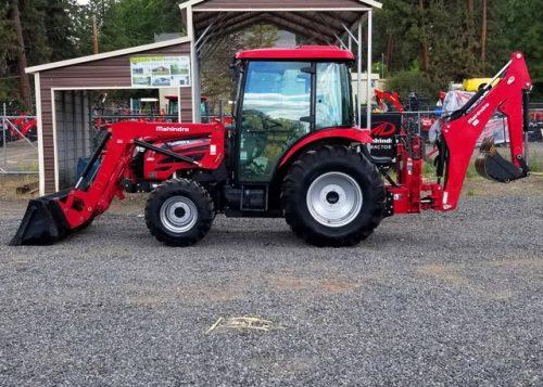 USED Mahindra 2655 Cab Tractor Loader Backhoe