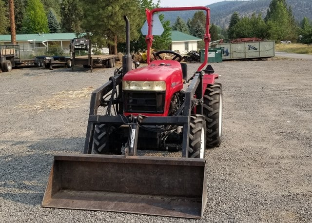 Used 2007 Jinma Tractor Loader