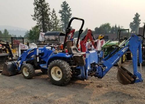 Used New Holland Tractor Loader Backhoe